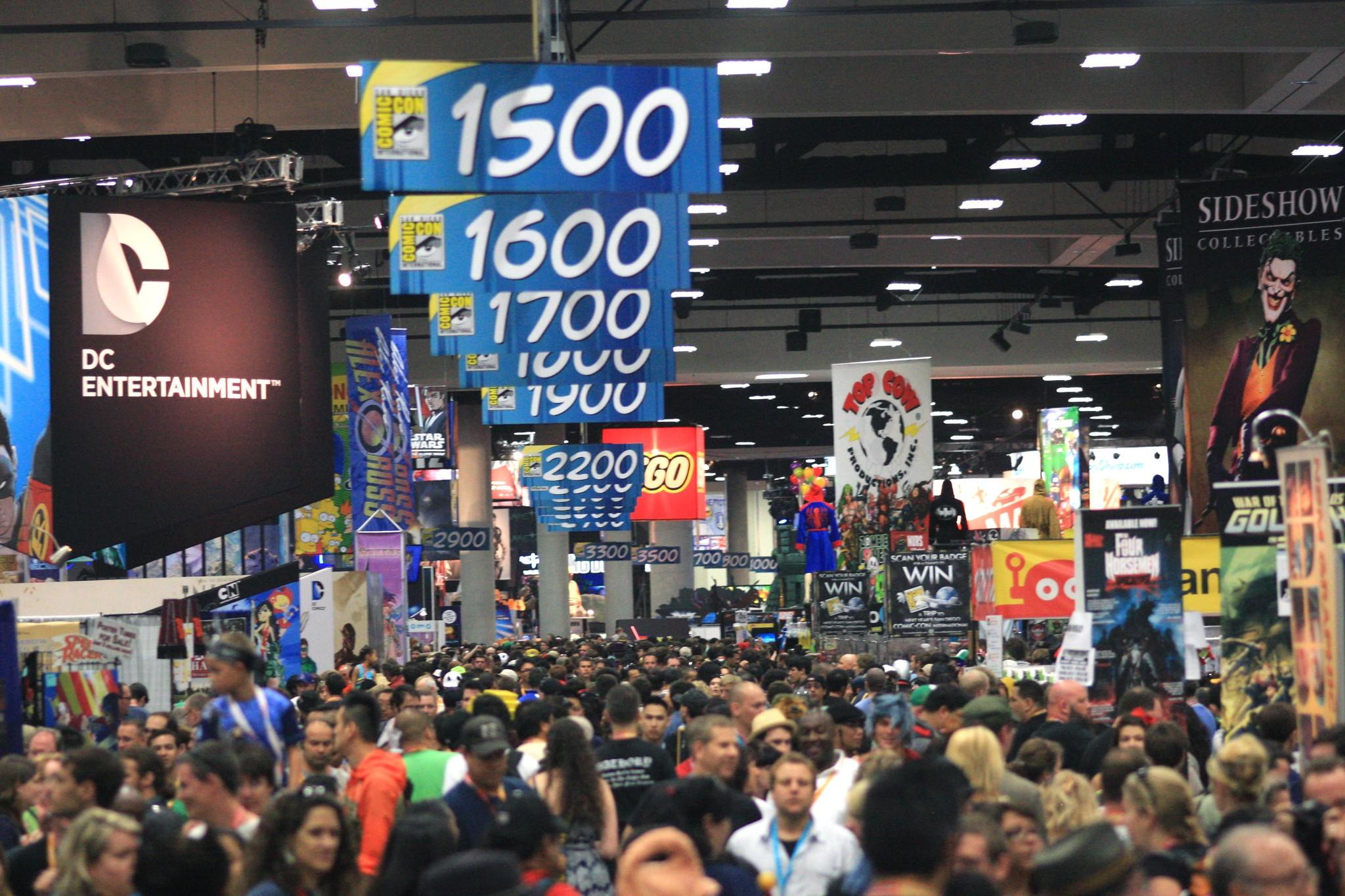 A Comic-Con em San Diego atrai milhares de pessoas todos os anos (Foto: Kevin Dooley/Flickr/Creative Commons)