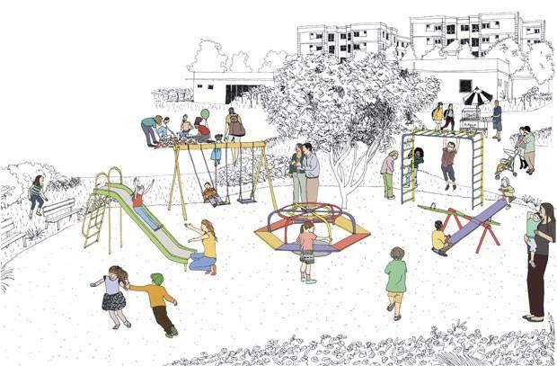 Segurança no parquinho: saiba a que você deve se atentar ao levar as crianças para brincar (Foto: Ilustração: Juliana Russo)