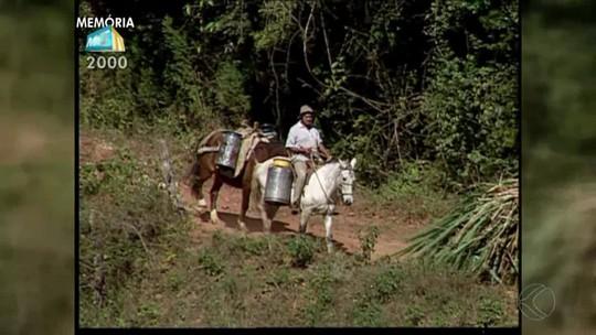 Quadro 'Memória' mostra visita a uma fazenda em Lima Duarte
