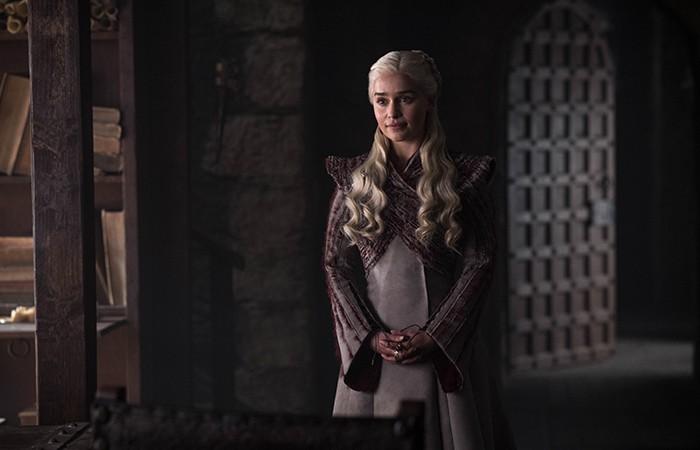 Daenerys Targaryen em cena do segundo episódio (Foto: Divulgação)