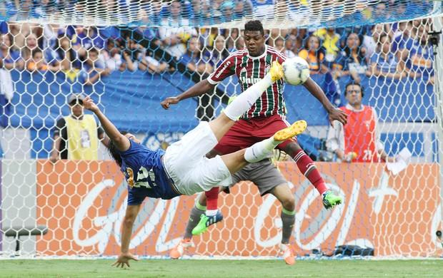 Cruzeiro x Fluminense, Marcelo Moreno (Foto: EFE)