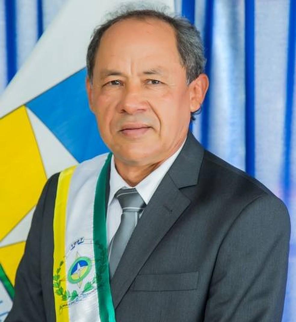 Ivanildo Paiva (PRB), prefeito de Davinopólis, foi morto em novembro de 2018 — Foto: Divulgação/Prefeitura Municipal de Davinopólis