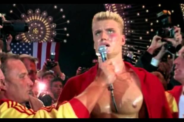 Ivan Drago (Dolph Lundgren) em Rocky IV (Foto: reprodução)