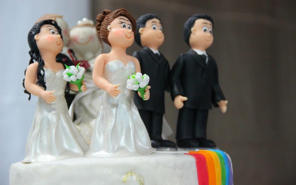 Casamentos entre mulheres cresceram mais que entre os homens, mostra o levantamento — Foto: Luis Henrique/G1 AM