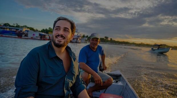 João Campos-Silva criou um modelo de manejo do maior peixe de água doce do brasil, o Pirarucu (Foto: Divulgação)