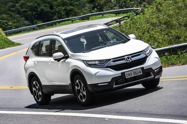 Honda CR-V Touring 2018 (Foto: Divulgação)