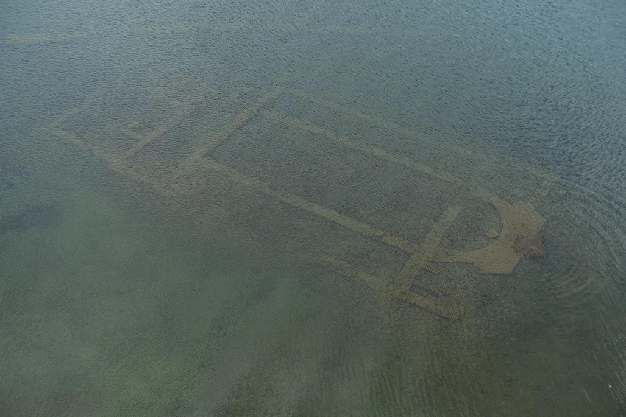 Após mais de 10 anos procurando a estrutura, arqueólogo contou com a ajuda do governo (Foto: Mustafa Şahin/Lake Iznik Excavation Archive)