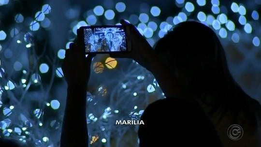 Confira imagens da decoração de Natal no Centro-Oeste Paulista