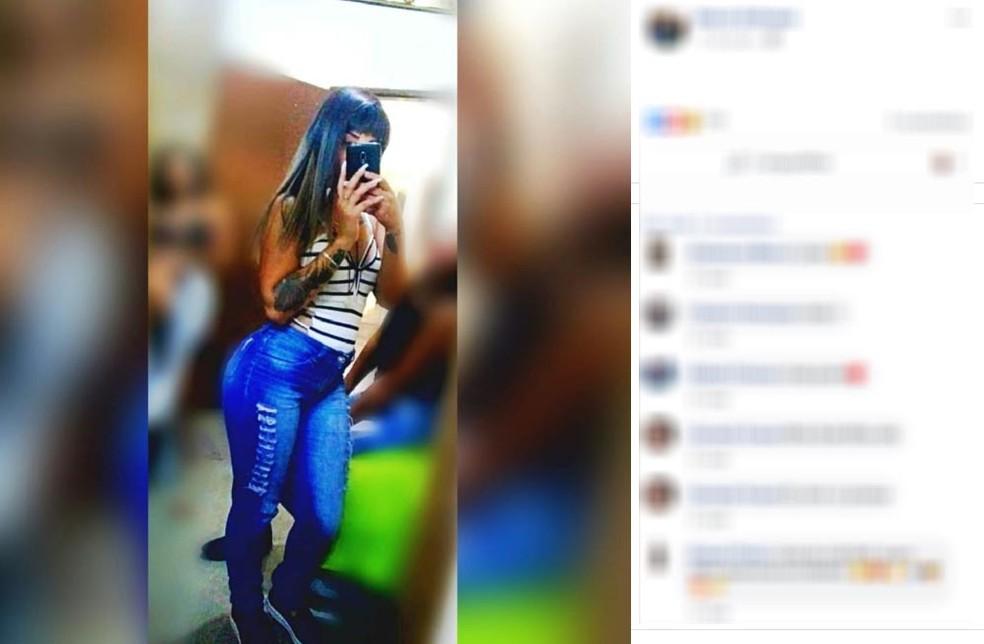 Jovem de Mogi Mirim que teve a mão decepada ao tentar defender mãe do ex descobriu que ela morreu neste domingo (10) — Foto: Reprodução/Facebook