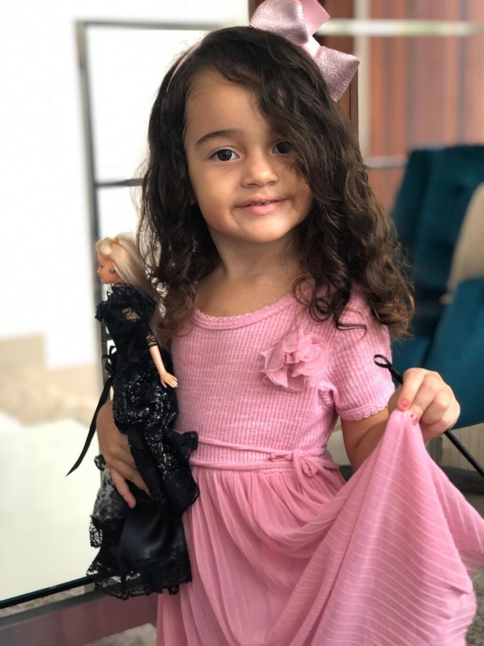 Alice tinha 3 anos e morreu devido um acidente vascular cerebral, na PB — Foto: Leandro Gonzales/Arquivo Pessoal