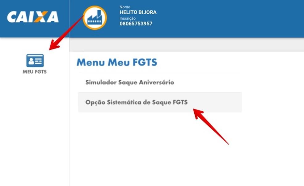 Opção de Saque-Aniversário do FGTS — Foto: Reprodução/Helito Beggiora