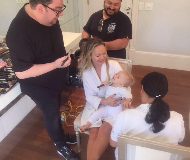 Eliana com a filha Manuela (Foto: Instagram)