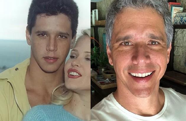 'Cara e coroa' marcou a estreia de Marcio Garcia em novelas. Ele era Guiga, um ex-modelo disputado pelas garotas. Hoje, ele apresenta o 'Tamanho família' (Foto: TV Globo / Reprodução)