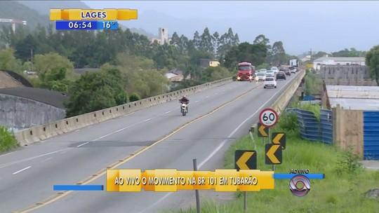 Santa Catarina registra duas mortes em rodovias no feriadão de Ano Novo
