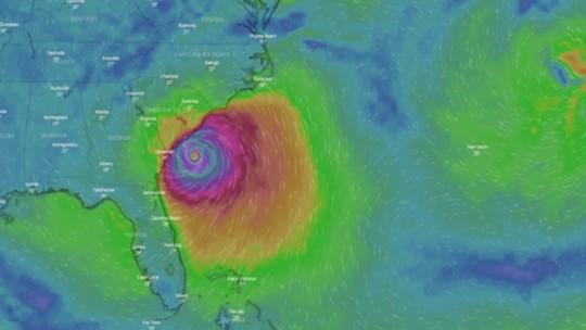Com rota imprevisível, furacão Dorian ameaça Carolina do Sul