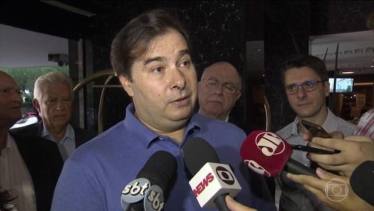 Rodrigo Maia quer que Bolsonaro assuma a articulação e defesa da reforma da previdência
