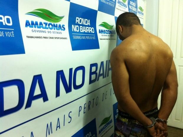 Soldado da Aeronáutica é suspeito de crime de tráfico de drogas e latrocínio em Manaus (Foto: Camila Henriques /G1 AM)