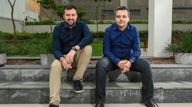 Diogo Lupinari e Marcelo Aguiar são os fundadores da Wevo (Foto: Divulgação)