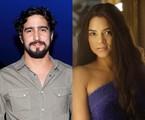 Renato Góes e Lucy Alves | O Globo