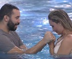 Gilberto e Sarah no 'BBB' 21 | Reprodução