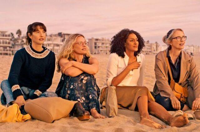 As quatro protagonistas da série 'À beira do caos' (Foto: Divulgação/Netflix)