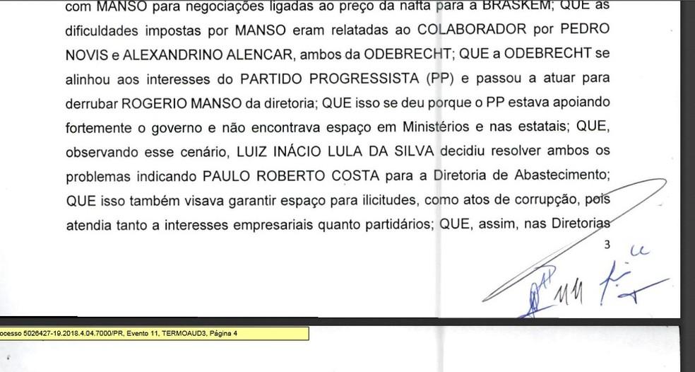 Moro levanta sigilo de delação de Palocci — Foto: Reprodução