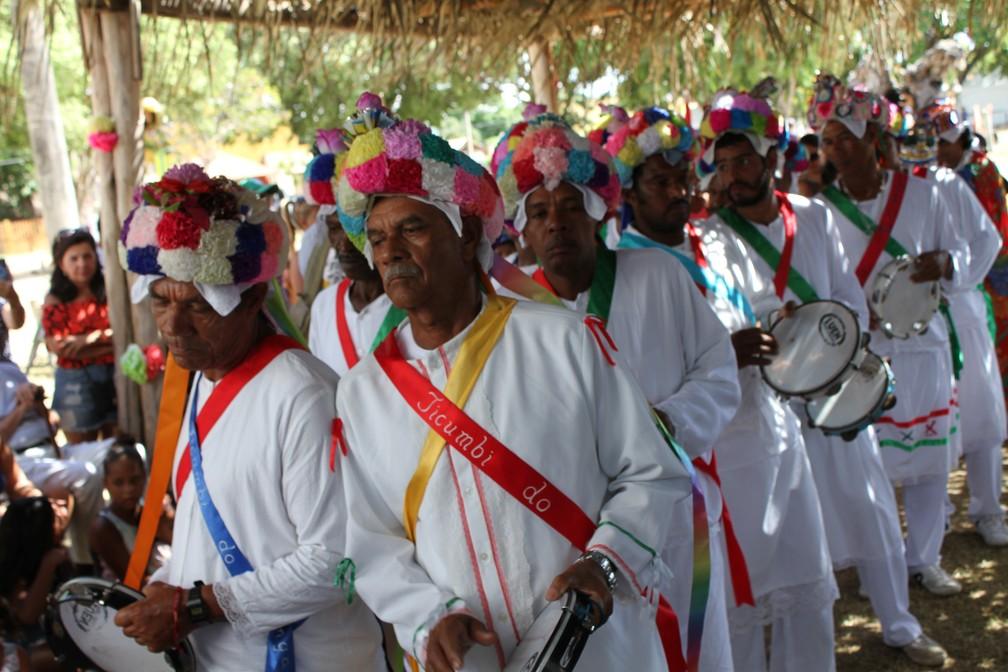 Festa de São Benedito e São Sebastião em Itaúnas, no Espírito Santo (Foto: Danilo Ferraz/ Divulgação/ Secult-ES)