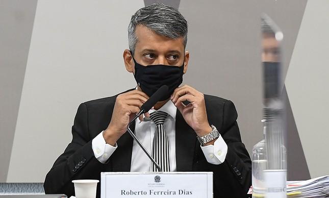 Roberto Dias, ex-diretor de logistica do Ministério da saude