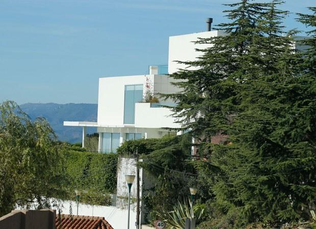 Casa de Shakira e Piqué (Foto: Backgrid)