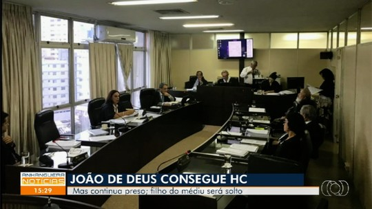Desembargadores concedem habeas corpus a João de Deus e ao filho dele, em Goiânia