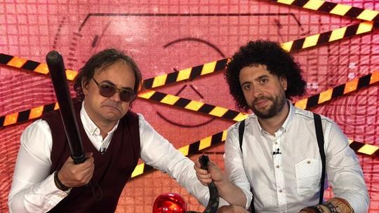 Carioca e Maurício Meirelles comandam o 'Patrulha Vídeo Show'