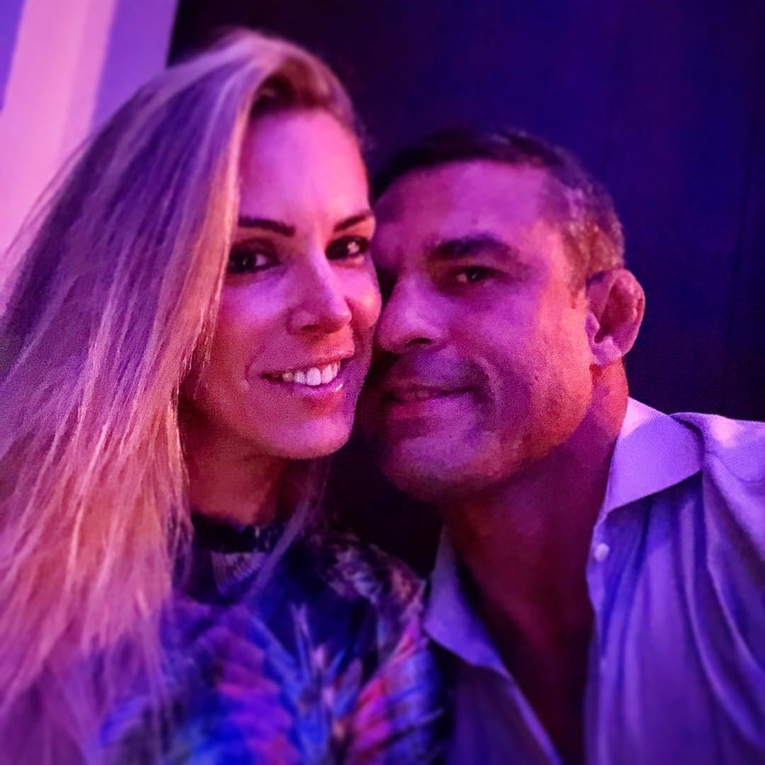 Vitor Belfort e Joana Prado (Foto: Reprodução Instagram)