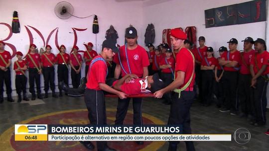 BDSP foi conhecer os bombeiros mirins de Guarulhos neste Dia das Crianças