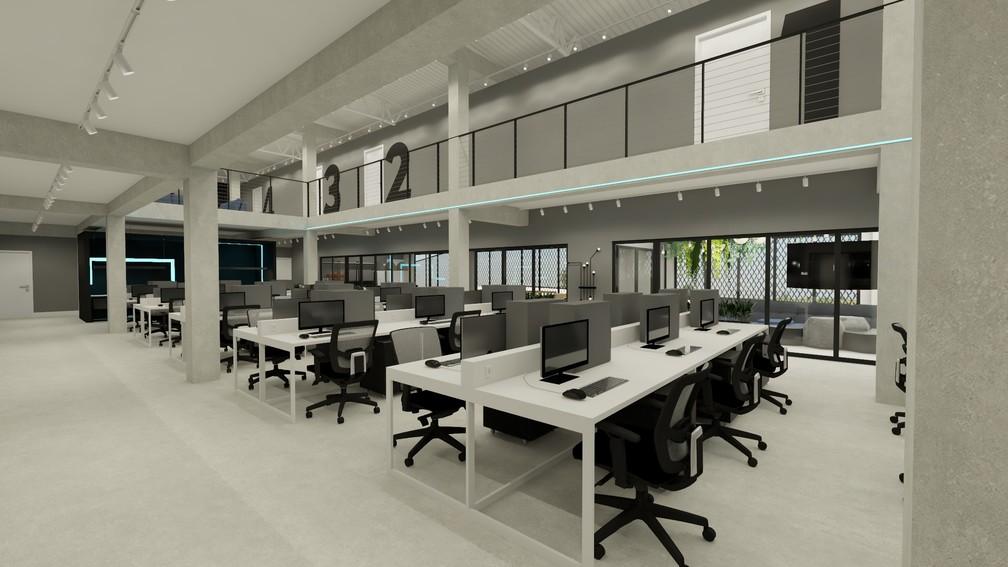 Novo office da Havan Liberty — Foto: Divulgação