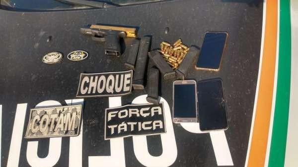 Dois suspeitos de homicídio envolvidos com chefes de facção entre os mais procurados do Ceará são presos na Grande Fortaleza