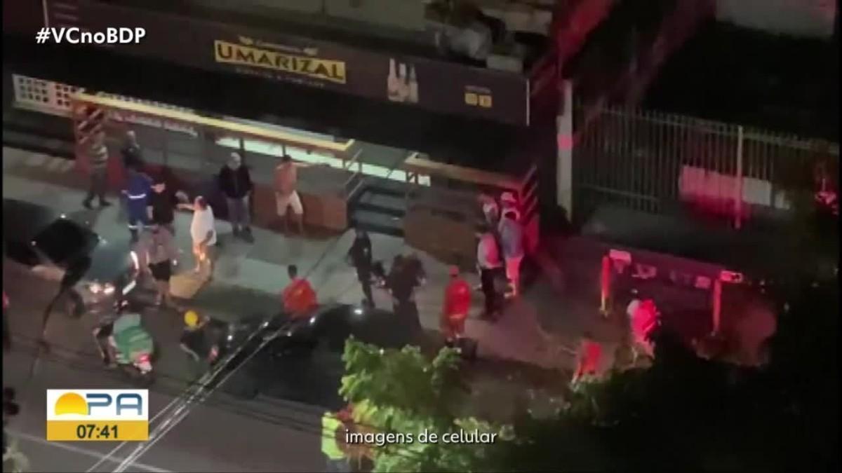 Vítima reage a assalto e mata suspeito no Umarizal, em Belém; veja vídeo