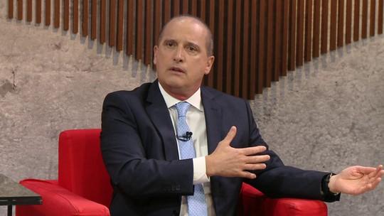 Ministro Onyx Lorenzoni fala sobre a crise na Venezuela e descarta intervenção militar