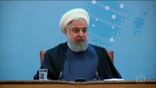 Trump responde ao presidente do Irã: 'Nunca mais volte a ameaçar os EUA'