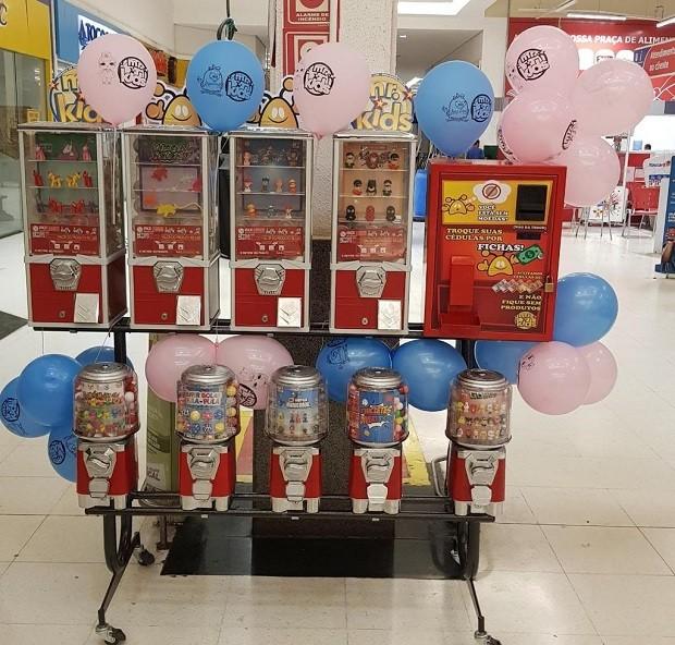 Vending machines da Mr.Kids (Foto: Divulgação)