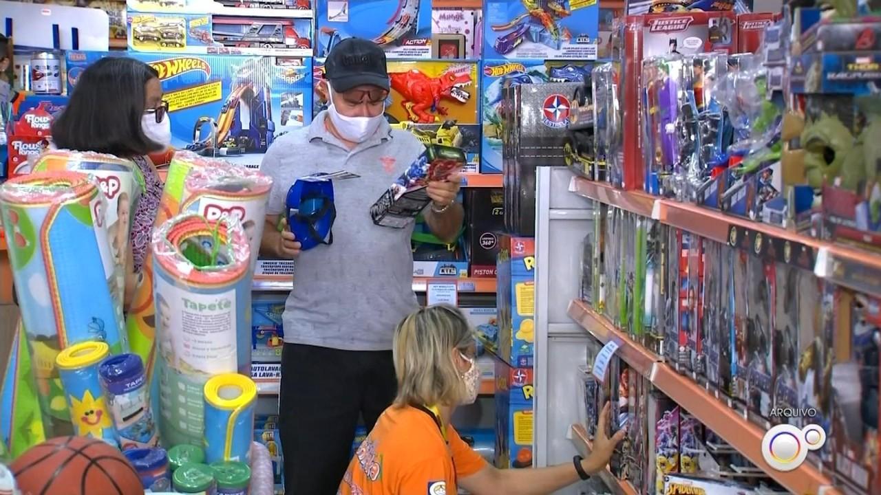 Comércio espera aumento nas vendas neste Dia das Crianças apesar da pandemia