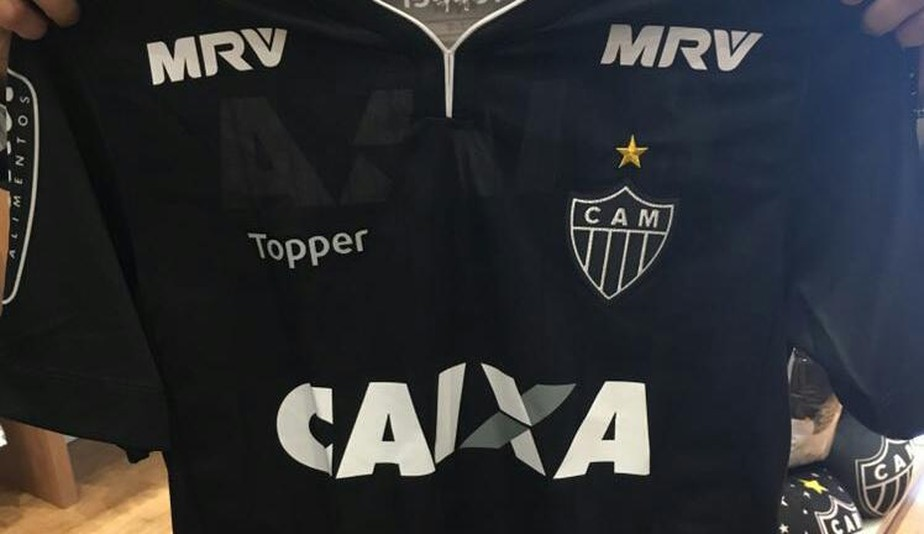 Conheça a camisa comemorativa que será lançada pelo Atlético-MG nesta 5ª