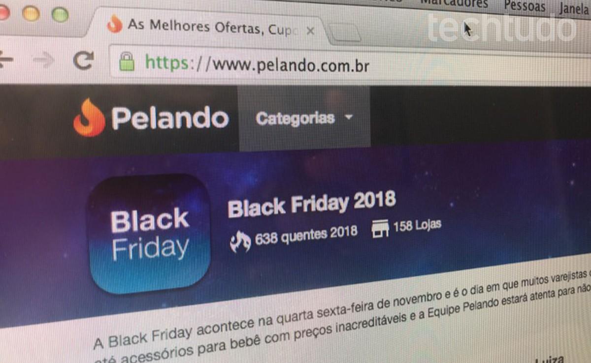 24debed18 Como usar o Pelando no PC e achar as melhores ofertas da Black Friday
