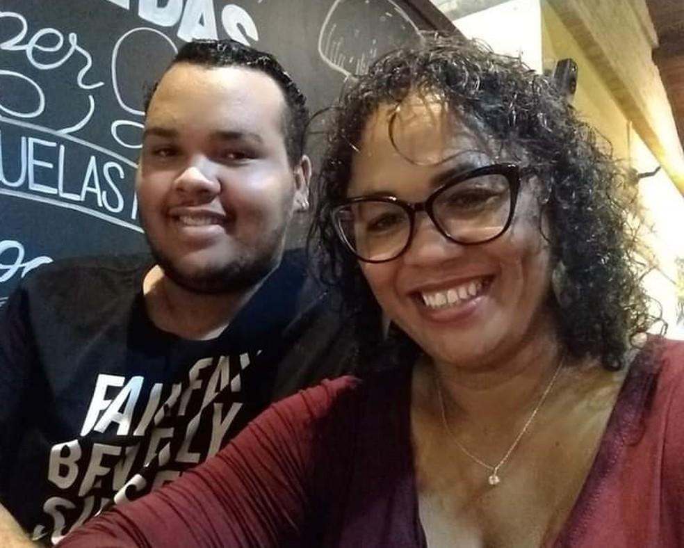 Filho de 19 anos estranhou a demora da mãe para voltar para casa em Tietê — Foto: Michael Douglas Almeida Matos/Arquivo pessoal