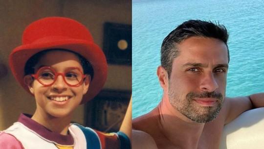 Ex-ator mirim, Luciano Amaral exibe boa forma em foto sem camisa