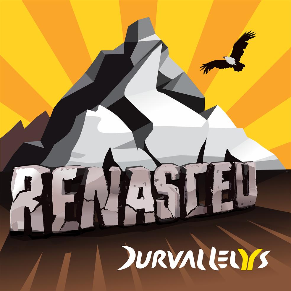 Capa do single 'Renasceu', de Durval Lelys — Foto: Divulgação
