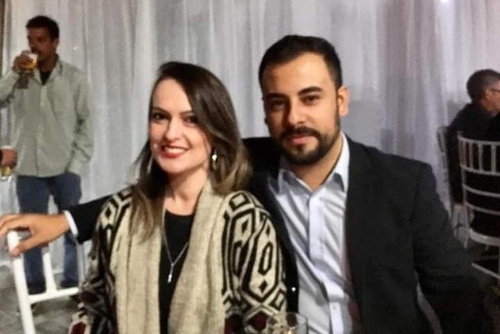 Érica Fernandes foi morta pelo marido Leonardo Souza Ceschini, que foi preso em flagrante — Foto: Arquivo Pessoal