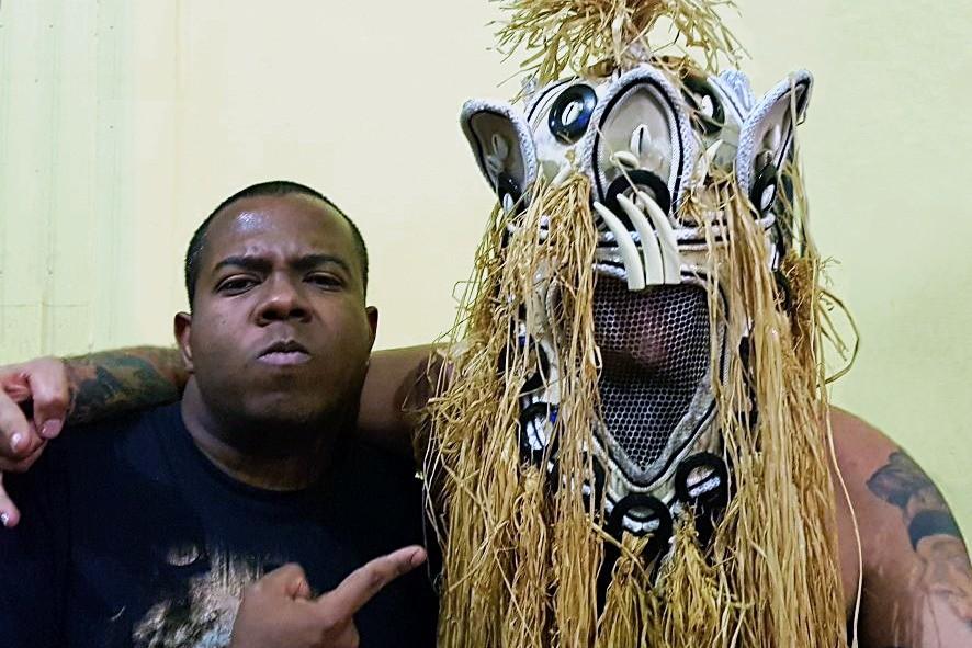 Membros da banda carioca Gangrena Gasosa