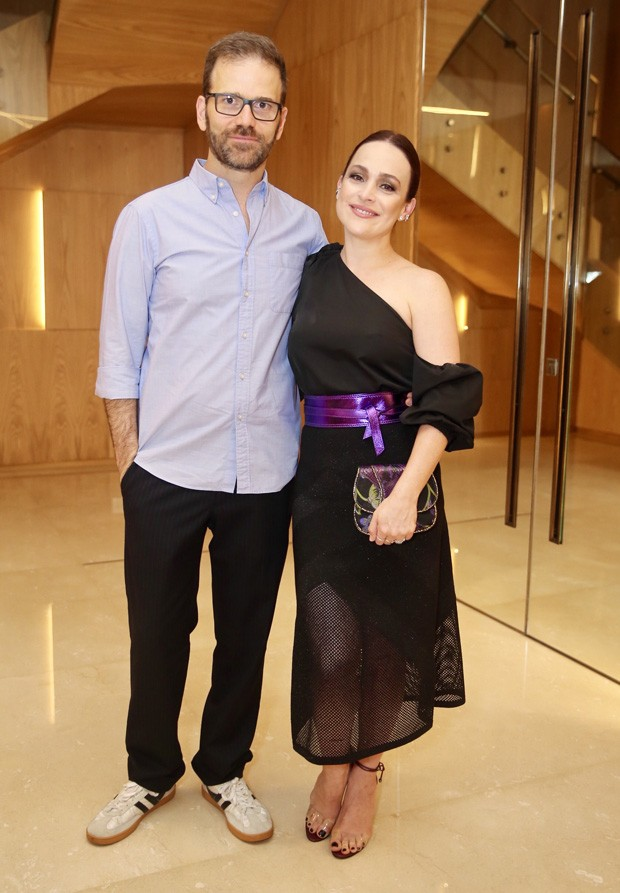 Gabriela Duarte e o marido, Jairo Goldfuss (Foto: Manuela Scarpa/Brazil News)