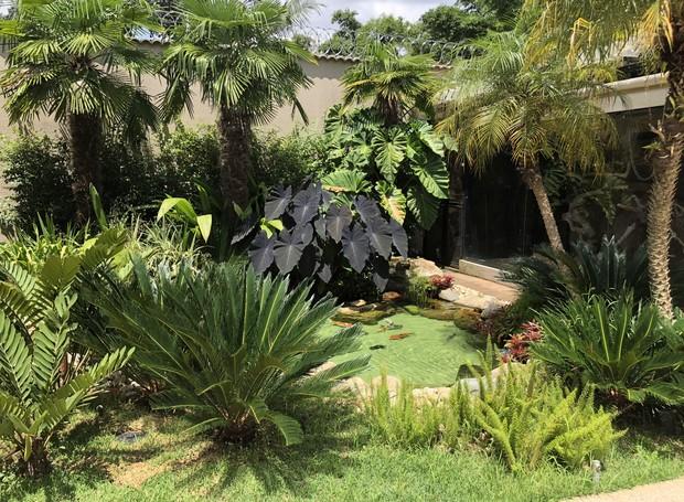 O jardim floresce e dá espaço para os aromas mais variados na primavera (Foto: Divulgação )