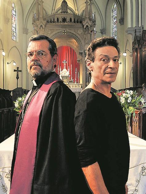 Felipe Camargo e Luiz Carlos Vasconcelos (Foto: Divulgação)